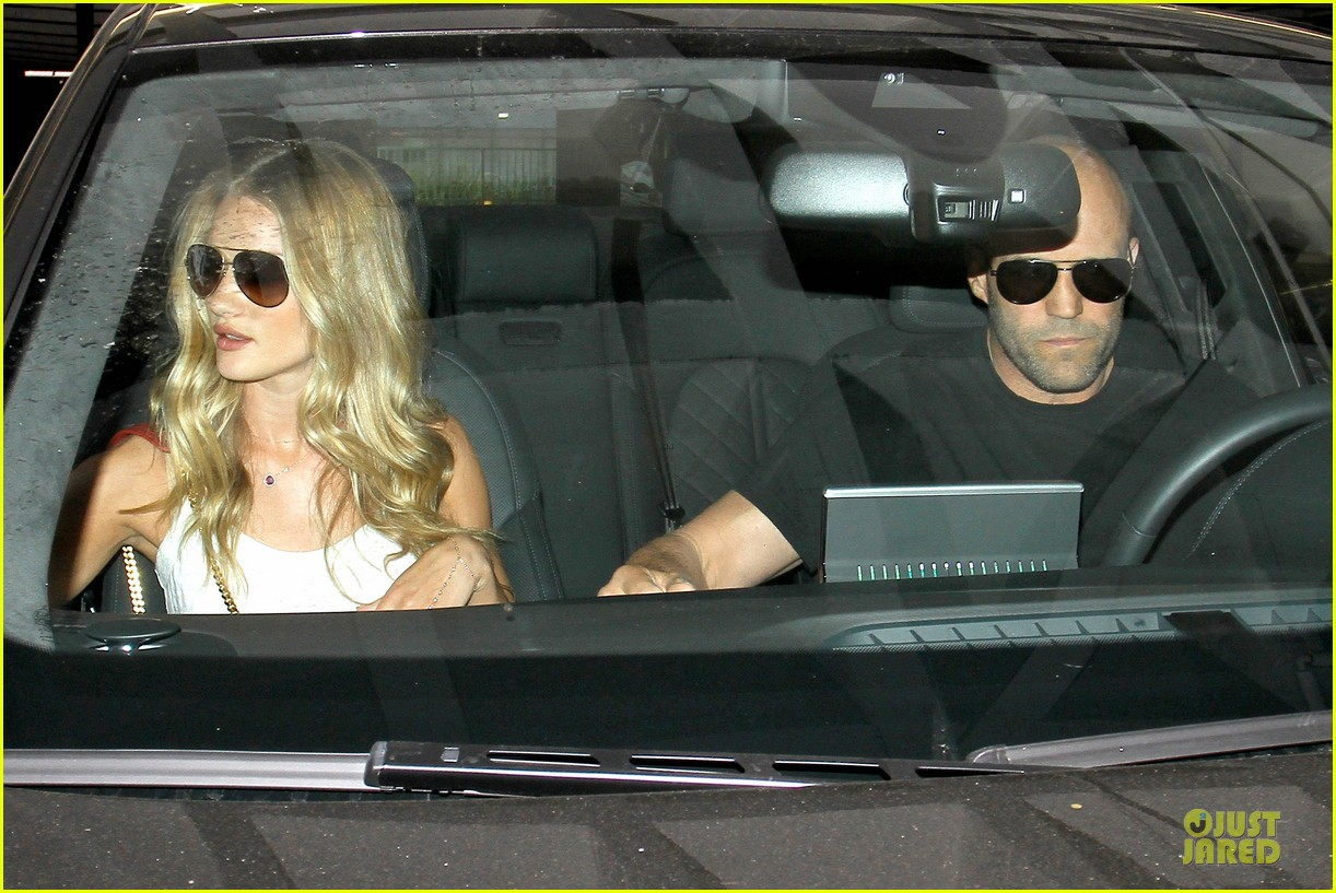 rosie huntington whiteley jason statham doctor appointment after lunch 082910606
