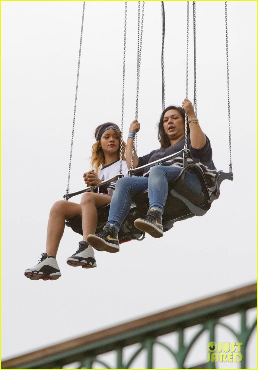 rihanna rides roller coaster at tivoli gardens 032904584
