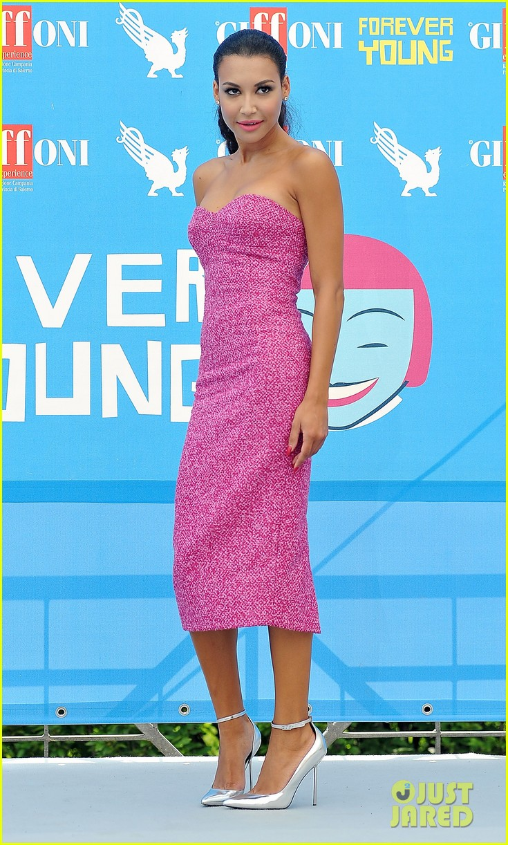 naya rivera giffoni film festival photo call 01