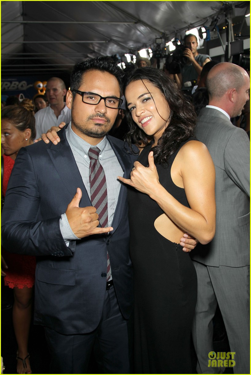 michelle rodriguez paul giamatti turbo nyc premiere 02