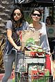 michelle rodriguez grocery shopping with gal pal kim 09