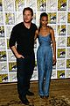 chris pratt zoe saldana guardians of the galaxy comic con panel 22