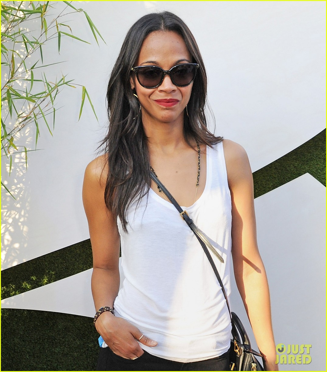zoe saldana rolling stones at british summer time hyde park 05