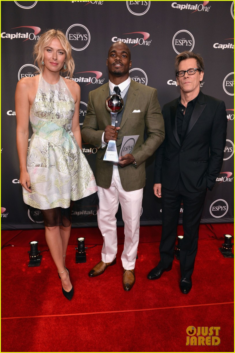 maria sharapova kevin bacon espys 2013 presenters 052911169