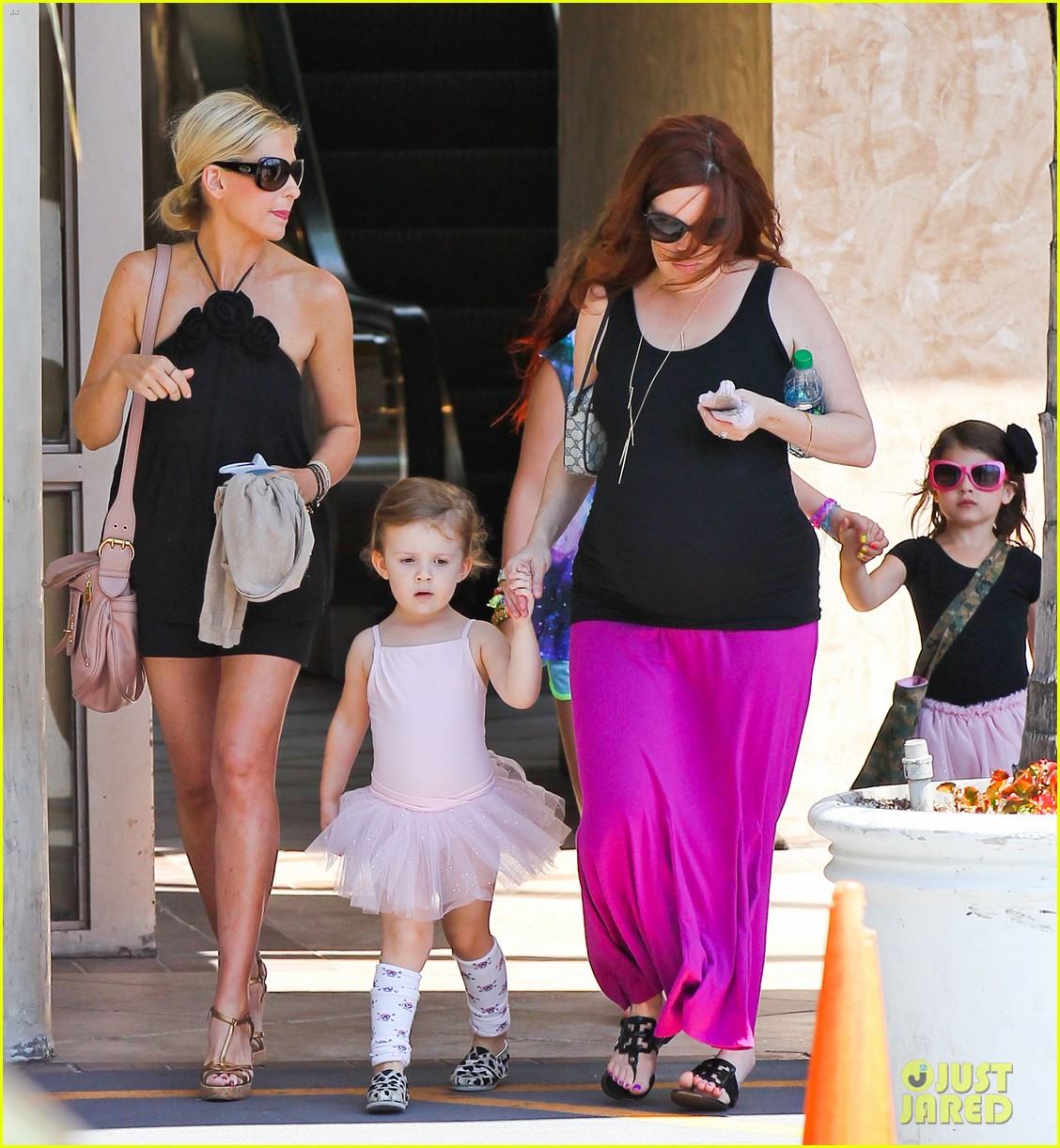 sarah michelle gellar ballet class pick up with charlotte 03