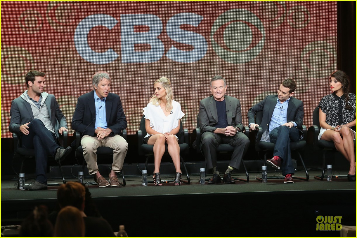 sarah michelle gellar the crazy ones at cbs summer tca tour 05