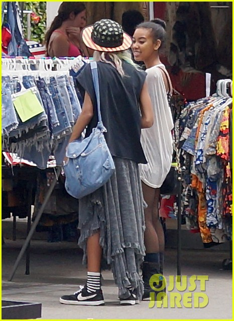 willow smith searches flea market for great finds 13