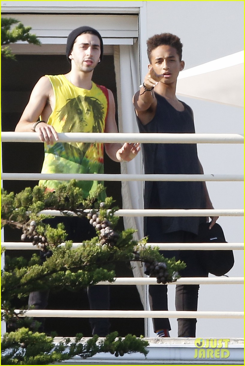 jaden smith celebrates 4th of july with kardashian family 26