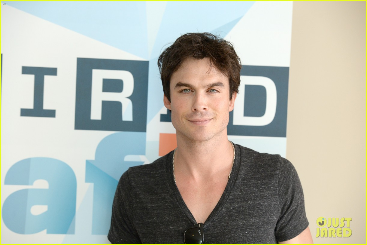 ian somerhalder comic con wired cafe with candice accola 132913272