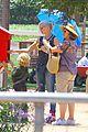 gwen stefani sun blocking umbrella at underwood family farms 31