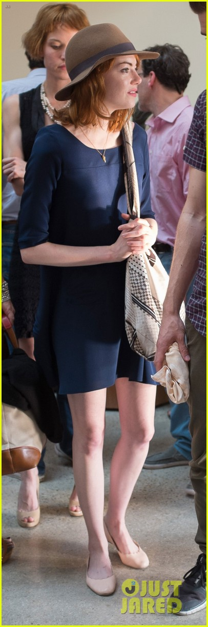 emma stone andrew garfield woody allen concert couple 01