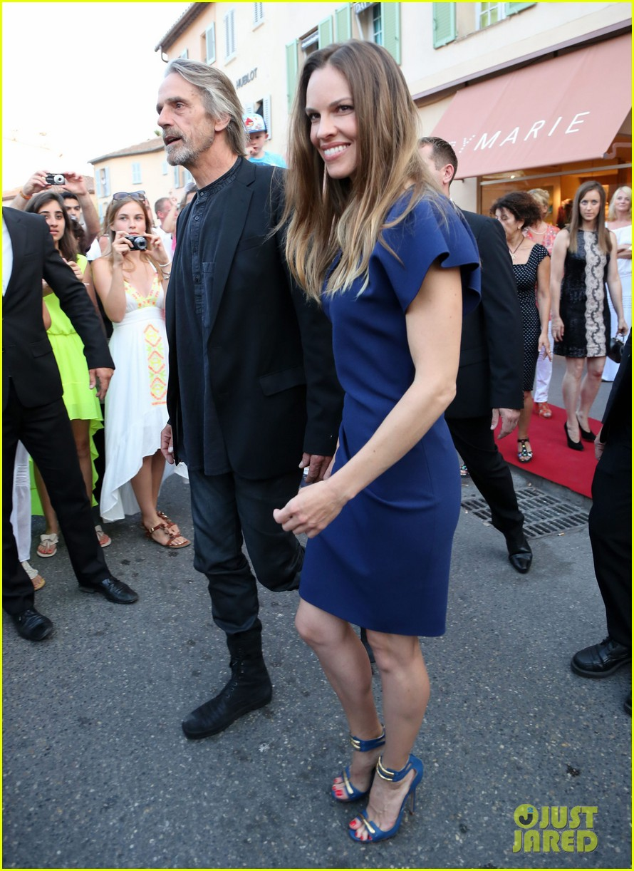 hilary swank bulgari boutique opening in saint tropez 11