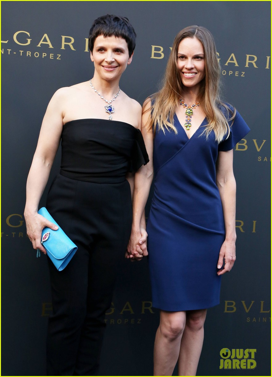 hilary swank bulgari boutique opening in saint tropez 16