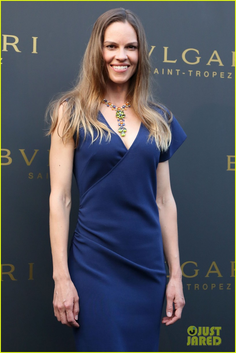 hilary swank bulgari boutique opening in saint tropez 19