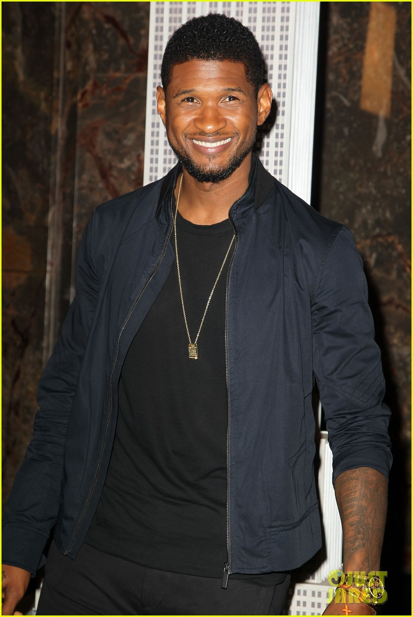 usher lights empire state building before 4th of july fireworks 16