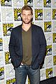 mike vogel rachelle lefevre under the dome at comic con 17