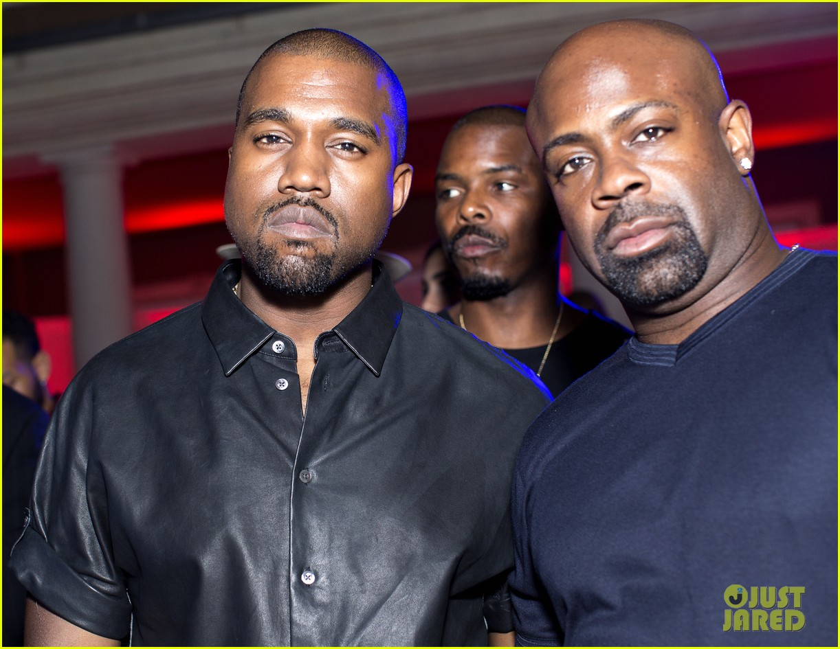 kanye west parties with pals reveals kim kardashian gift 02