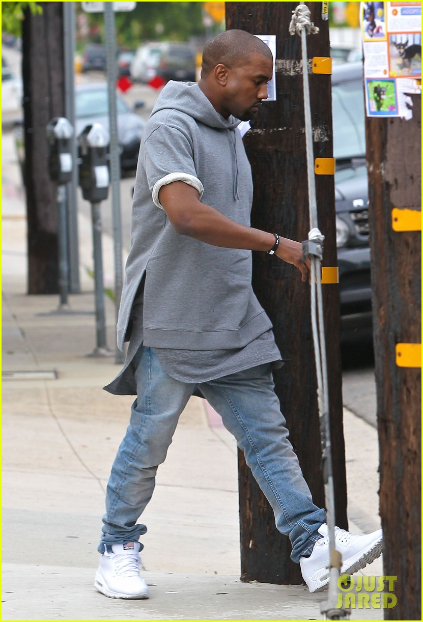 kanye west shops for furniture reportedly naps with north 082908103