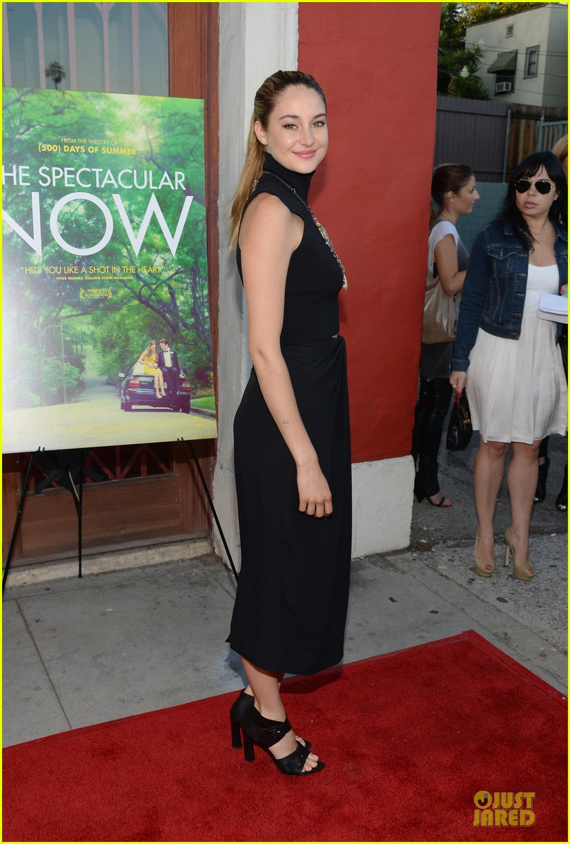 shailene woodley miles teller spectacular now la screening 152920630
