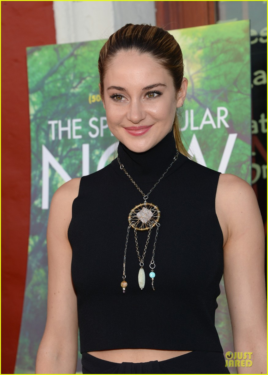 shailene woodley miles teller spectacular now la screening 192920634