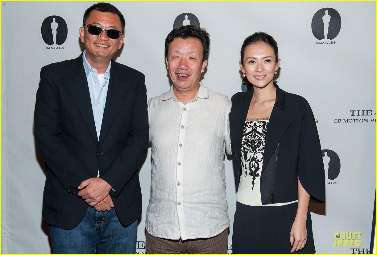 ziyi zhang the grandmaster screening 12