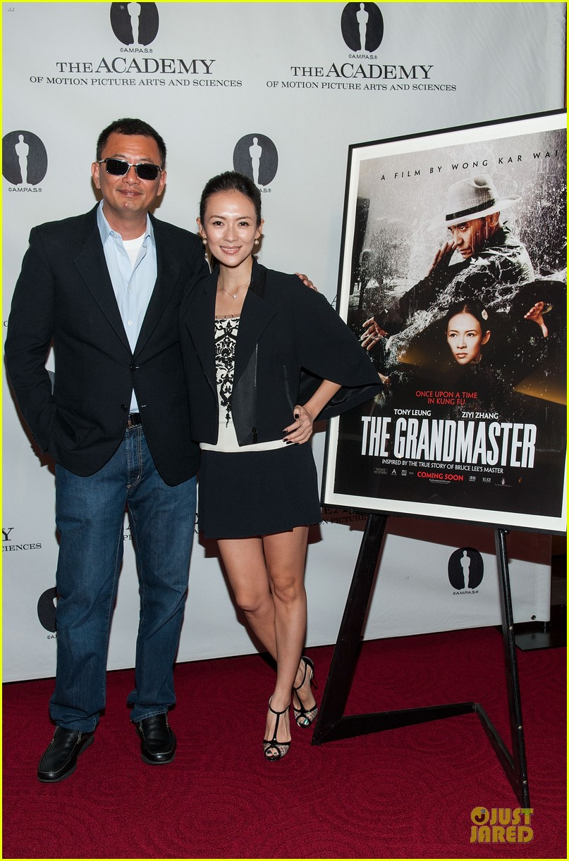ziyi zhang the grandmaster screening 14