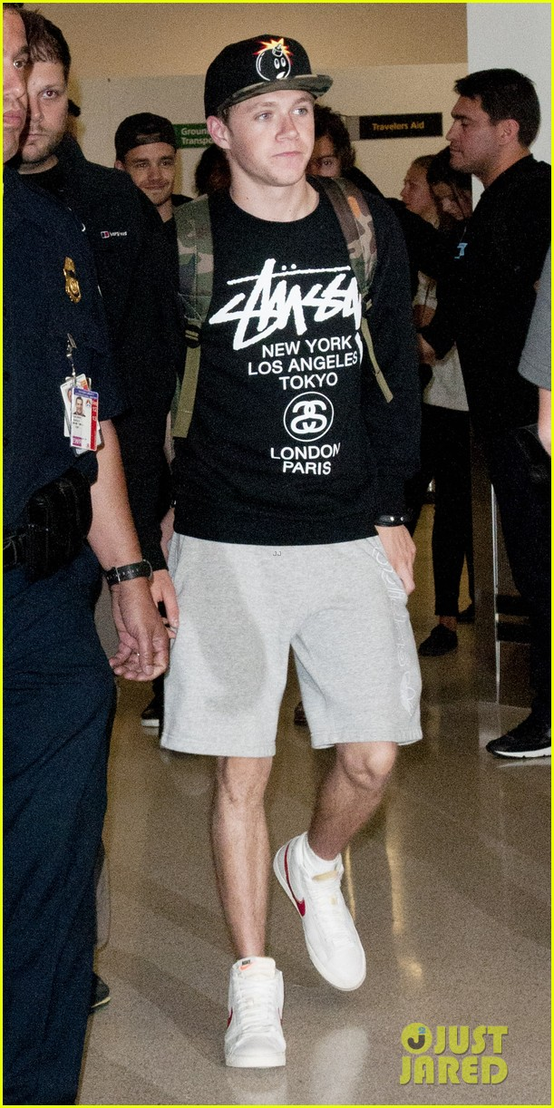 one direction newark airport arrival before today show 01