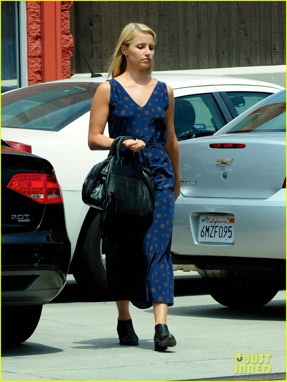 dianna agron working all day into the night 04
