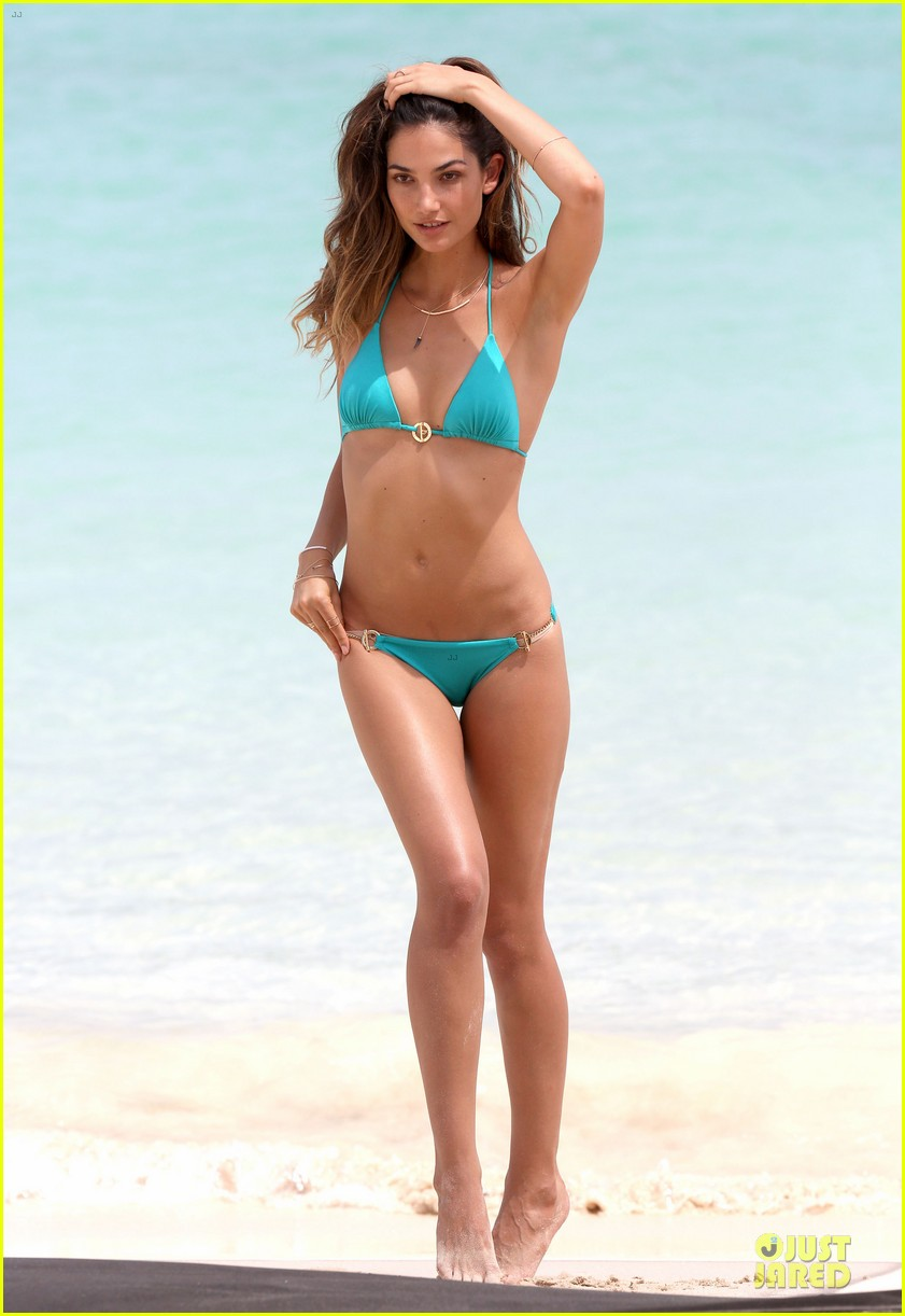 lily aldridge sexy bikini babe in st barts 332930318