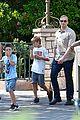 david victoria beckham disneyland family trip 05