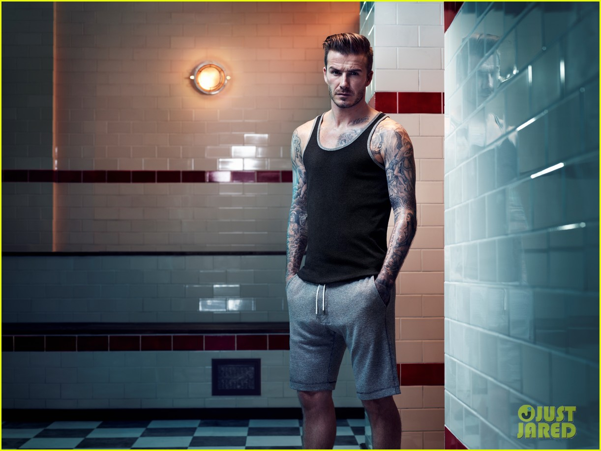 david beckham shirtless hm campaign pictures 01