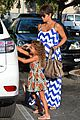 halle berry shows off large baby bump at bristol farms 18
