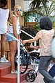 beyonce flaunts new haircut at lunch with jay z blue ivy 08