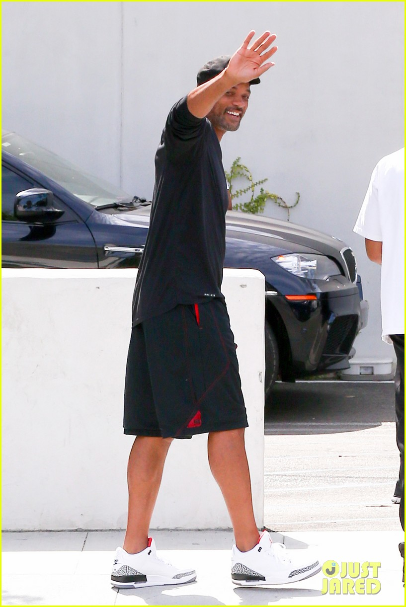 justin bieber hangs with his uncle will smith 06