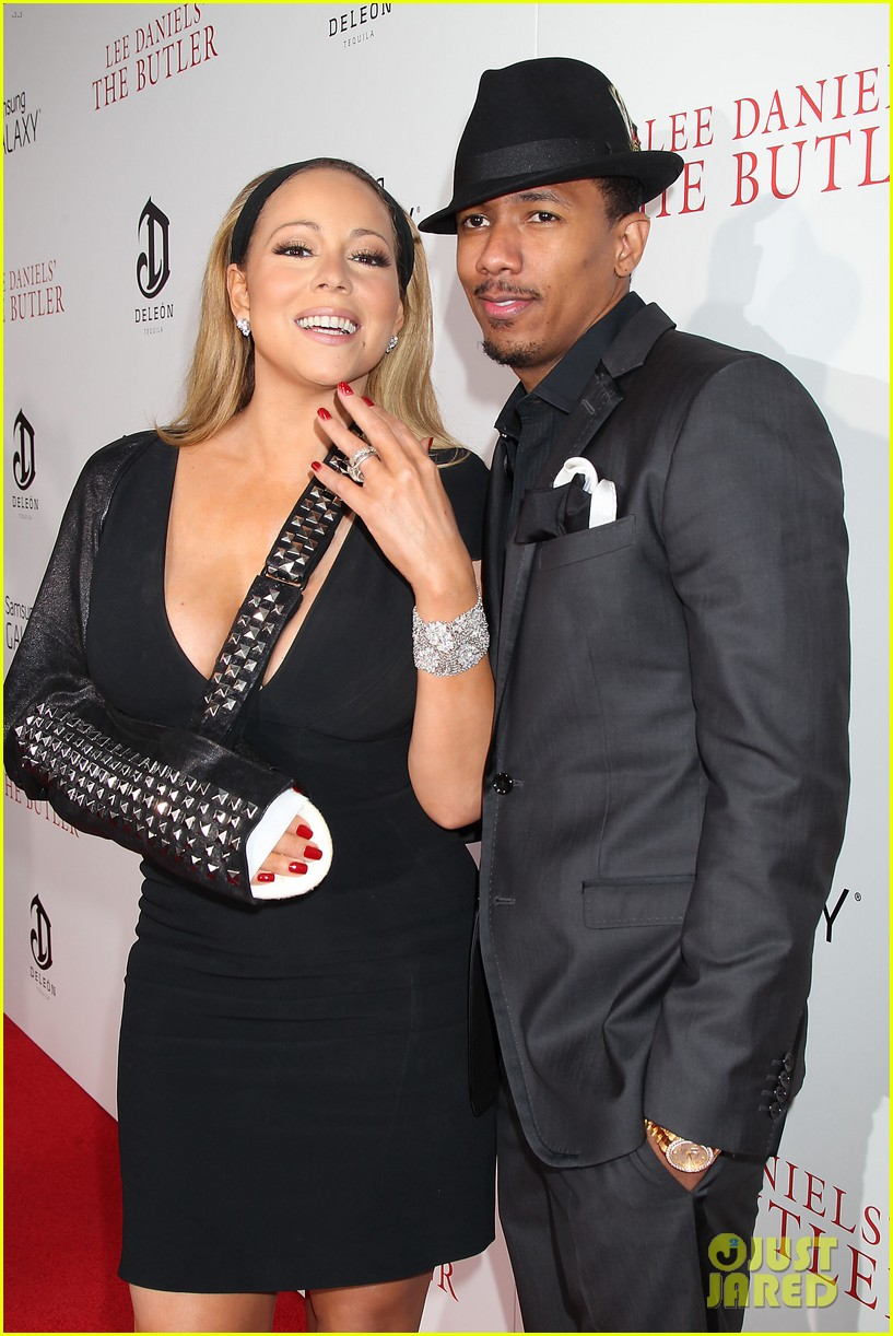 mariah carey wears arm sling to butler new york premiere 12