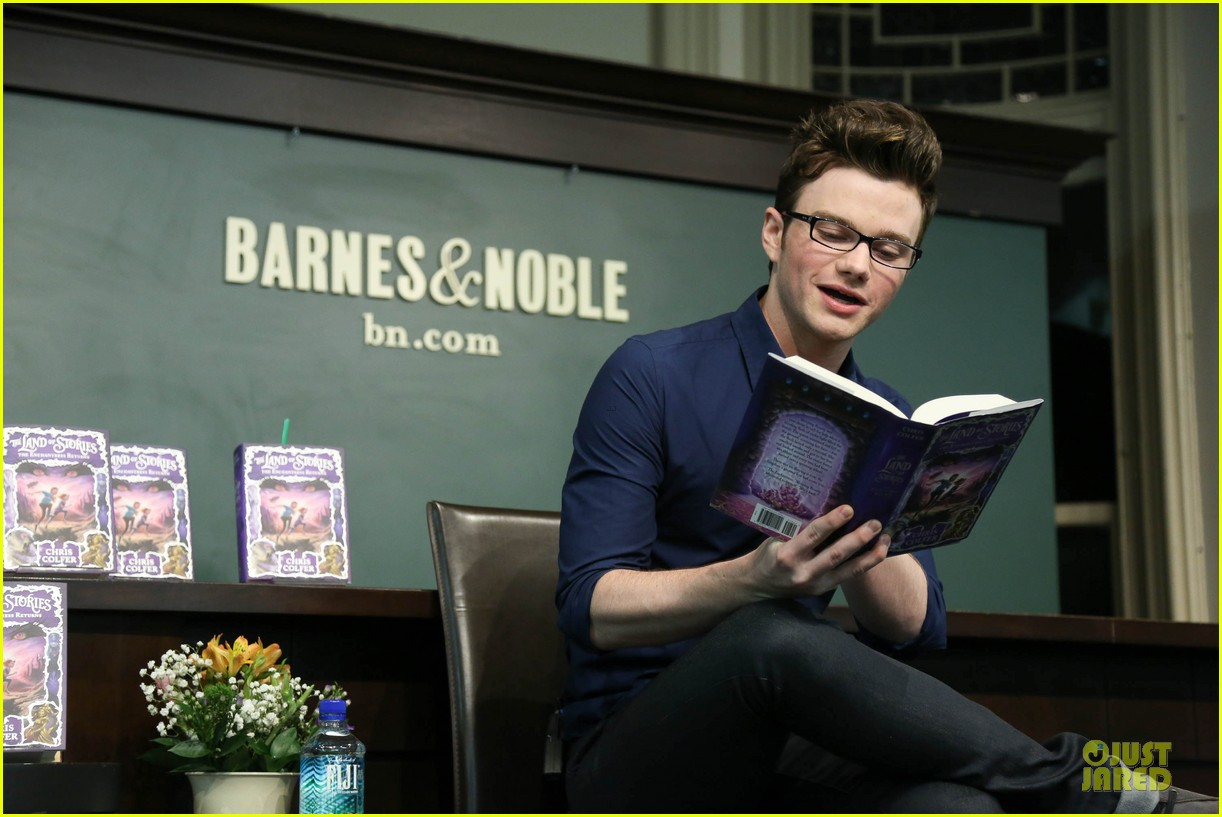 chris colfer land of stories the enchantress returns book event 142924686
