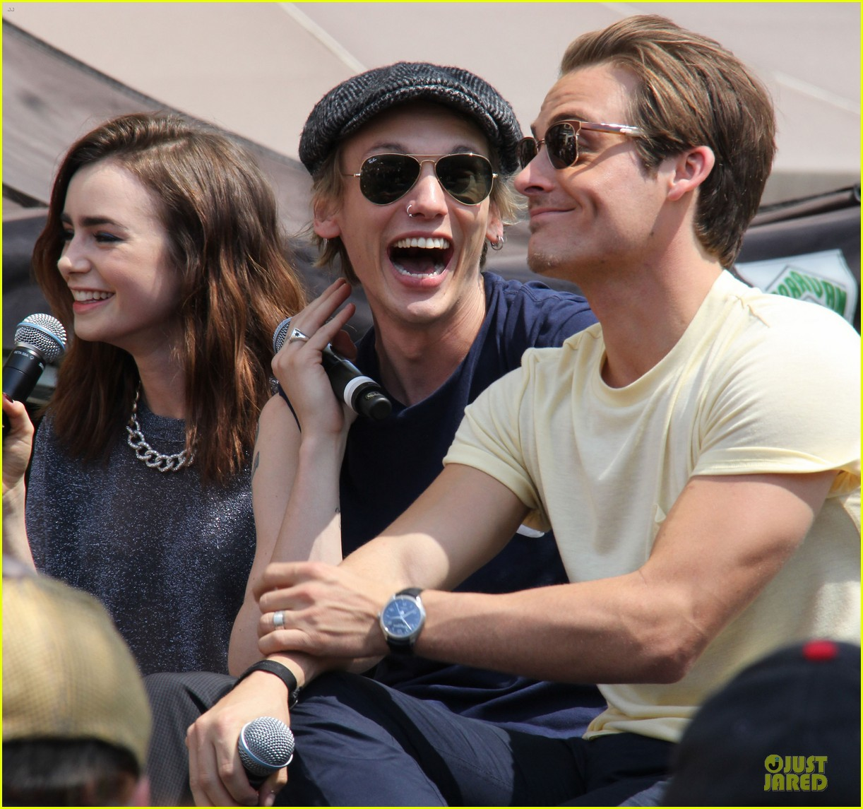 lily collins jamie campbell bower bower are very close despite split 022929788