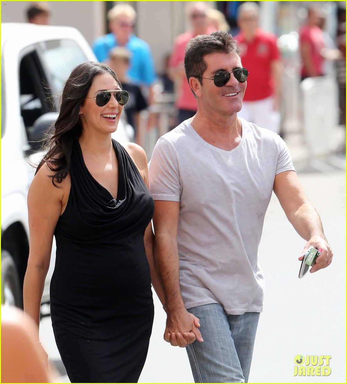 simon cowell lauren silverman hold hands in st tropez 042938276