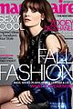 zooey deschanel covers marie claire september 2013 02