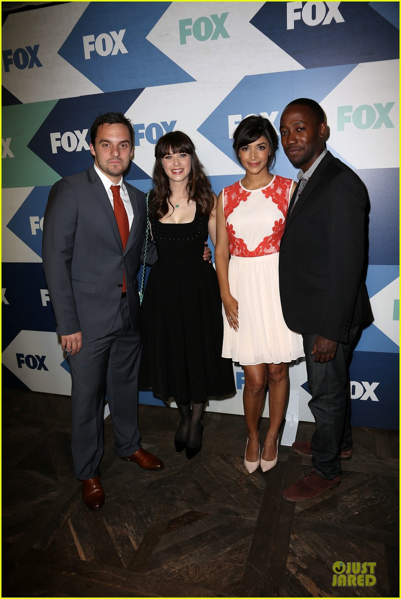 zooey deschanel new girl cast fox tca summer party 03