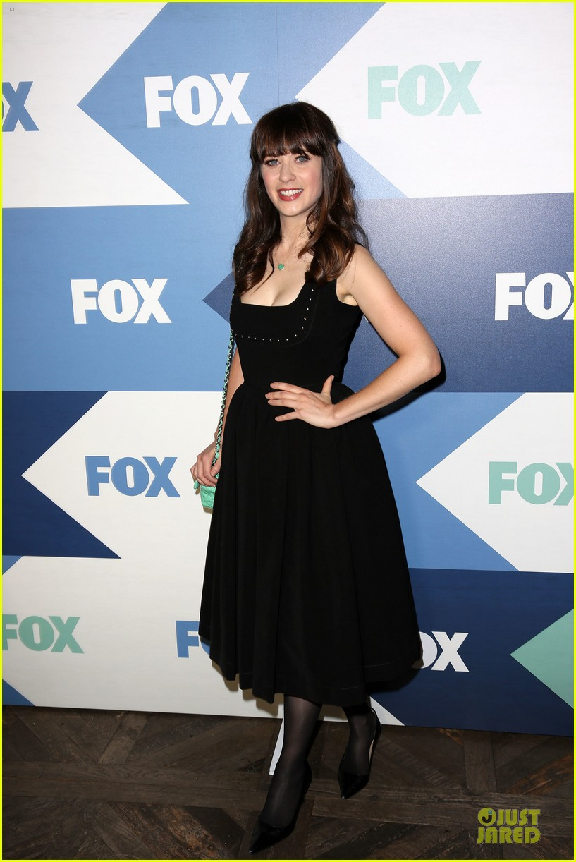 zooey deschanel new girl cast fox tca summer party 08