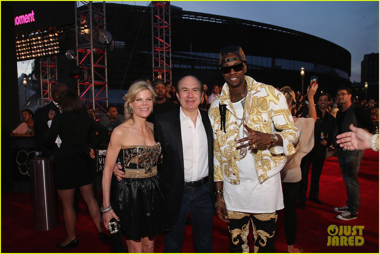leonardo dicaprio mtv vmas after party 2013 with 2 chainz 04