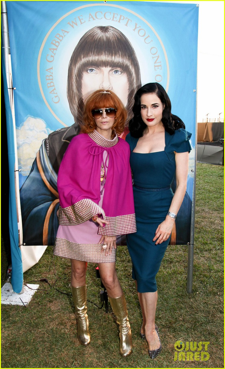 dita von teese johnny ramone tribute 01