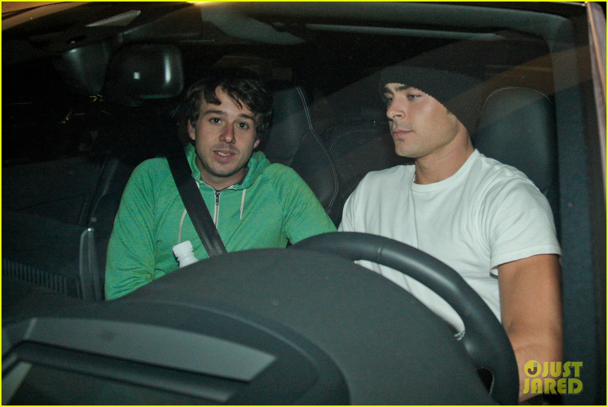zac efron goes to the movies with a friend 032923975