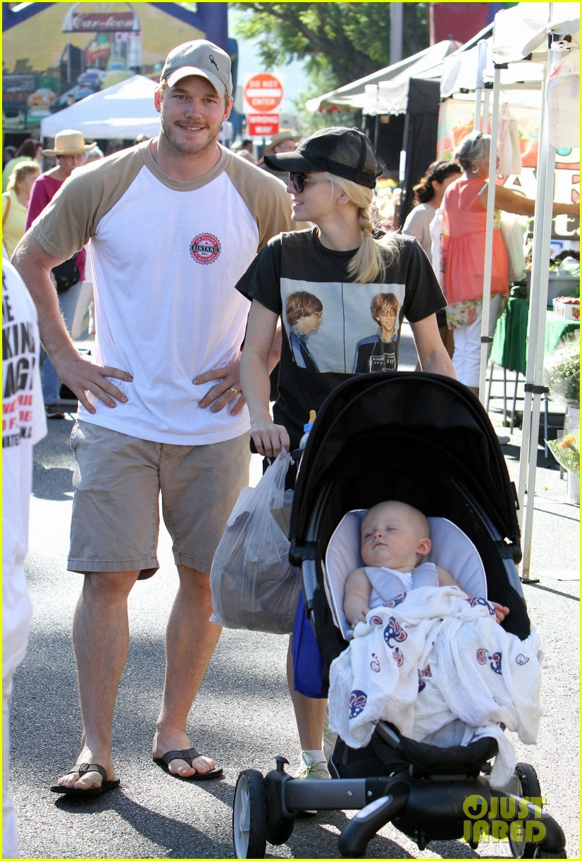 anna faris chris pratt celebrate son jack first birthday 042938420