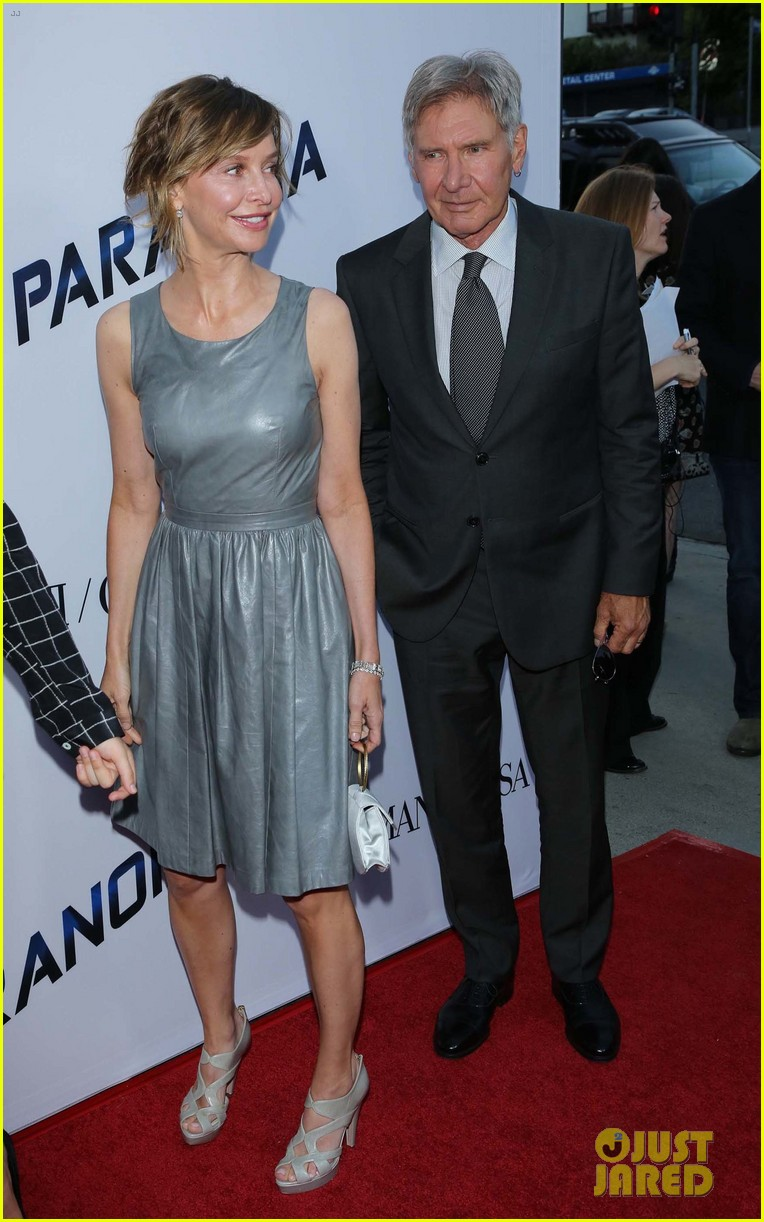 harrison ford paranoia premiere with calista flockhart 12