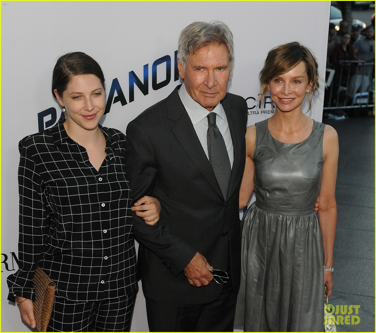 harrison ford paranoia premiere with calista flockhart 21