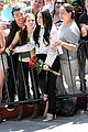 lady gaga poses with fans with fans without applause makeup 01