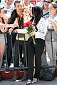 lady gaga poses with fans with fans without applause makeup 09