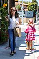 jennifer garner seraphina ballet pickup after lunch with violet 01